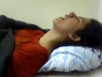indian girl masturbates under covers