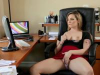 dahlia sky looks at porn