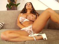 ava adams pleasures herself