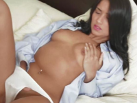 latina plays with herself